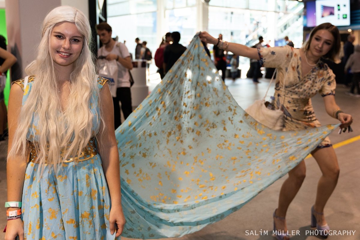 Zürich Game Show 2018 - Cosplay Tag 2 - 304