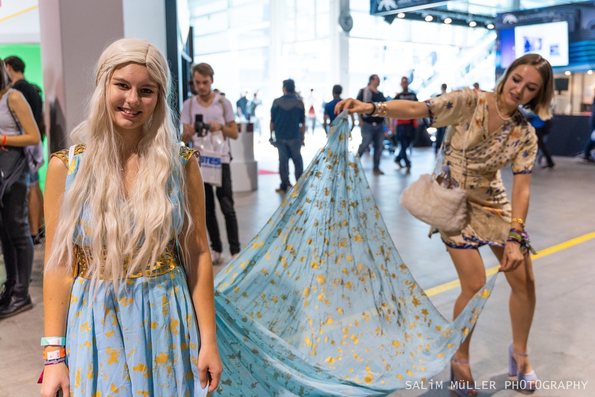 Zürich Game Show 2018 - Cosplay Tag 2 - 305