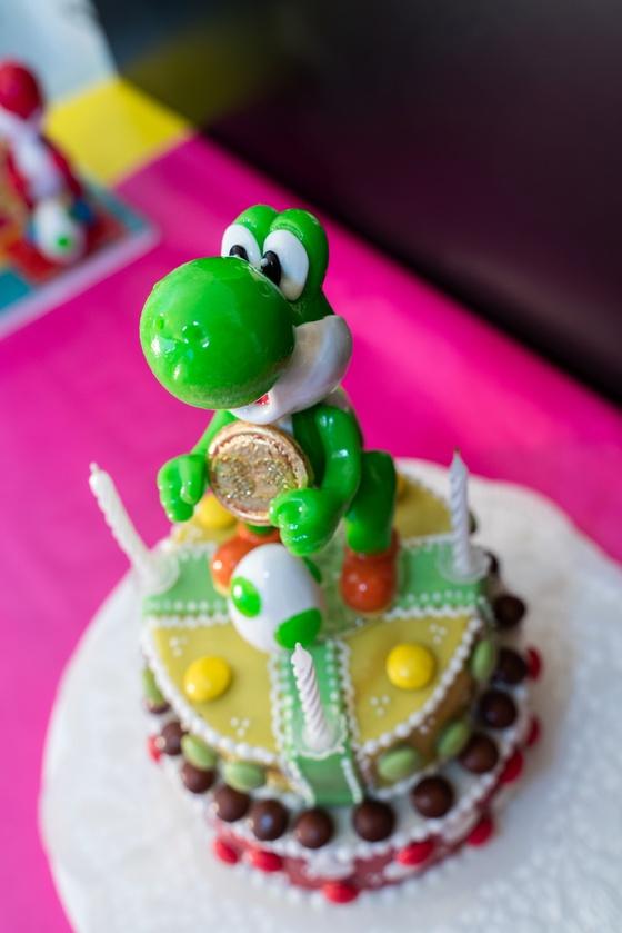 Geburtstagskuchen Dekoration 2019 - Yoshi & Bowser - 005