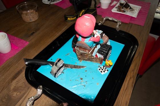 Geburtstagskuchen Dekoration 2016 - Mario Kart - 022