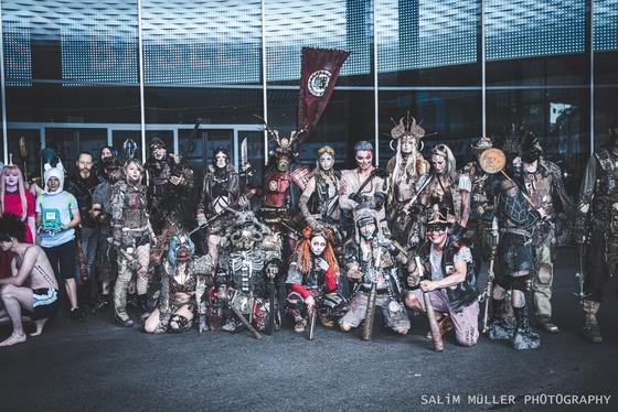 Fantasy Basel 2019 - SA - Cosplay Gruppenfoto - 001
