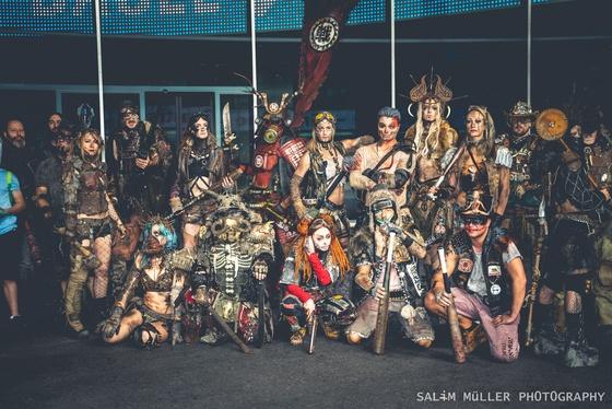 Fantasy Basel 2019 - SA - Cosplay Gruppenfoto - 002