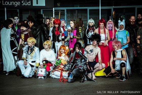 Fantasy Basel 2019 - SA - Cosplay Gruppenfoto - 005