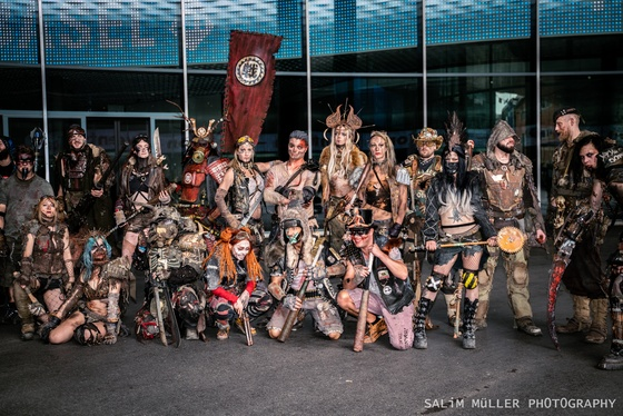 Fantasy Basel 2019 - SA - Cosplay Gruppenfoto - 007