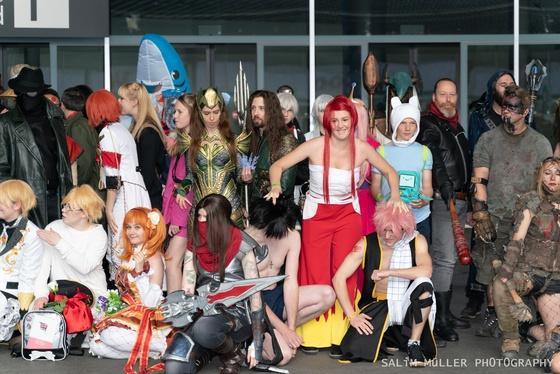 Fantasy Basel 2019 - SA - Cosplay Gruppenfoto - 008