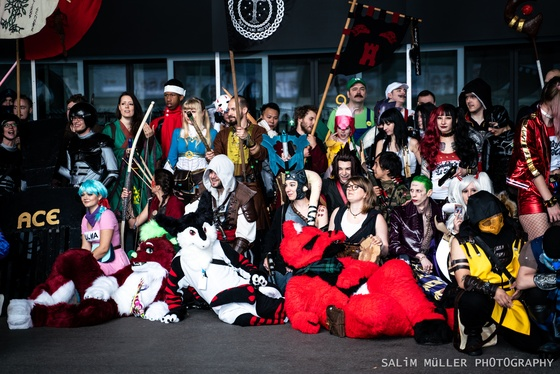 Fantasy Basel 2019 - SA - Cosplay Gruppenfoto - 011