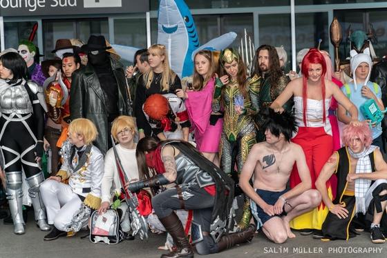 Fantasy Basel 2019 - SA - Cosplay Gruppenfoto - 013