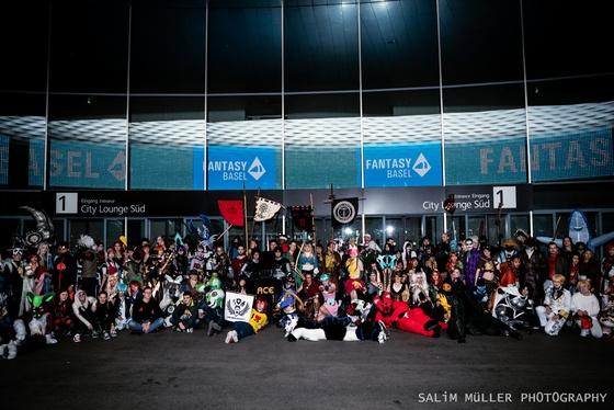 Fantasy Basel 2019 - SA - Cosplay Gruppenfoto - 014