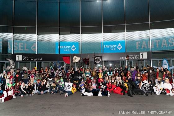 Fantasy Basel 2019 - SA - Cosplay Gruppenfoto - 015