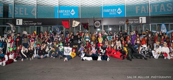 Fantasy Basel 2019 - SA - Cosplay Gruppenfoto - 016