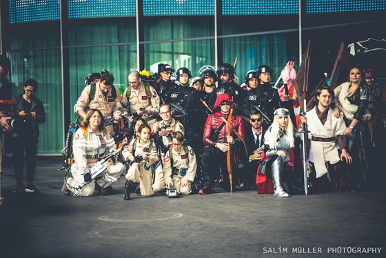 Fantasy Basel 2019 - SA - Cosplay Gruppenfoto - 018