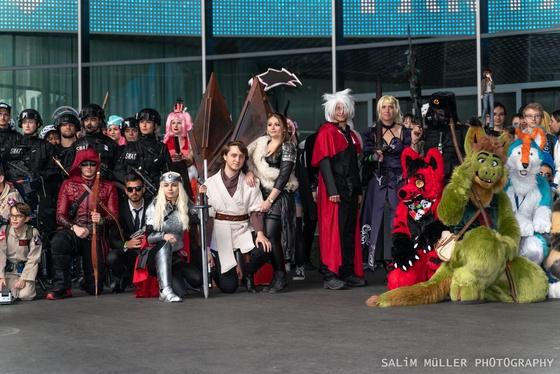 Fantasy Basel 2019 - SA - Cosplay Gruppenfoto - 019