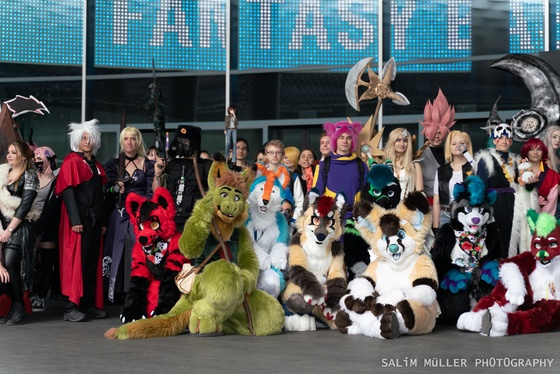 Fantasy Basel 2019 - SA - Cosplay Gruppenfoto - 020