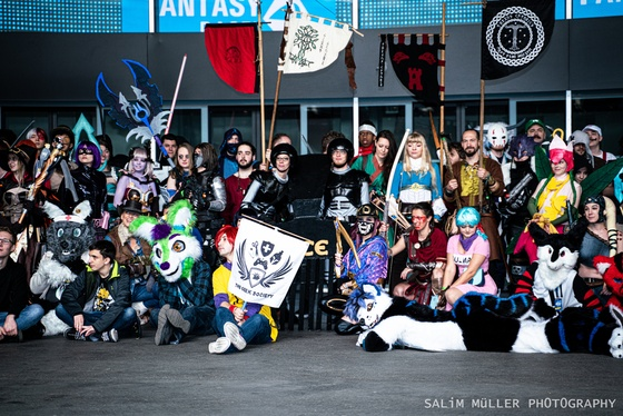 Fantasy Basel 2019 - SA - Cosplay Gruppenfoto - 023