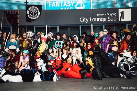 Fantasy Basel 2019 - SA - Cosplay Gruppenfoto - 025