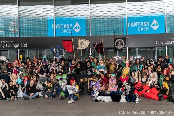 Fantasy Basel 2019 - SA - Cosplay Gruppenfoto - 026