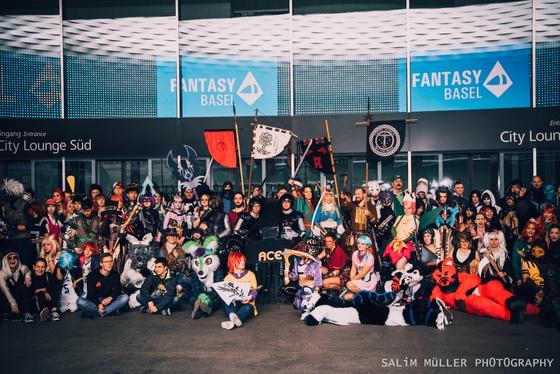 Fantasy Basel 2019 - SA - Cosplay Gruppenfoto - 027
