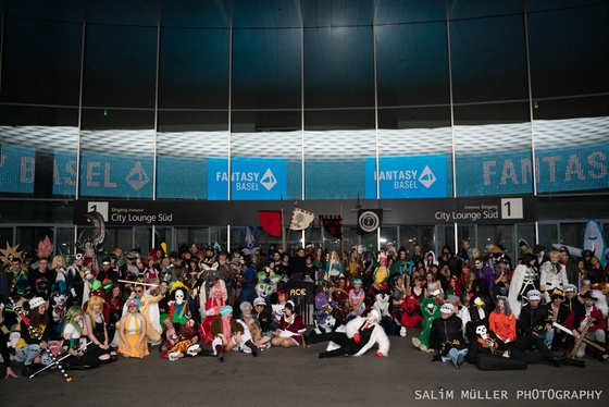 Fantasy Basel 2019 - SA - Cosplay Gruppenfoto - 029