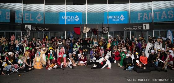 Fantasy Basel 2019 - SA - Cosplay Gruppenfoto - 030