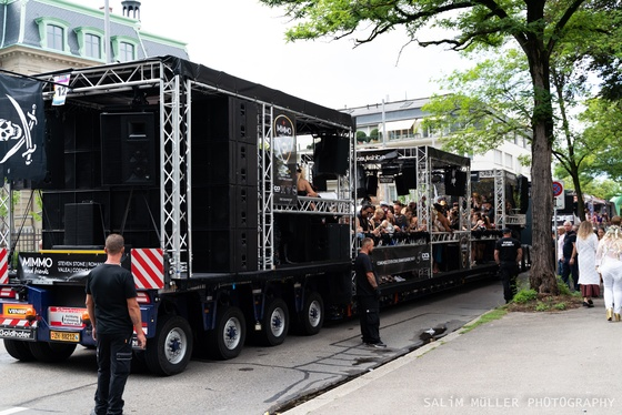 Street Parade 2019 - SYNERGY The Stone Age Love Mobile - 004