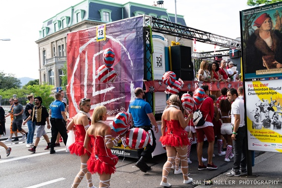 Street Parade 2019 - SYNERGY The Stone Age Love Mobile - 009