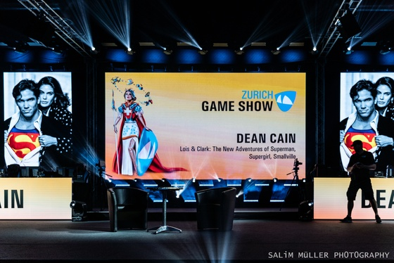 Zürich Game Show 2019 - Dean Cain - 001