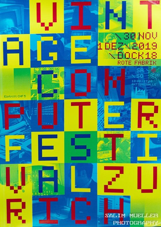 Vintage Computer Festival Zürich 2019 - 003