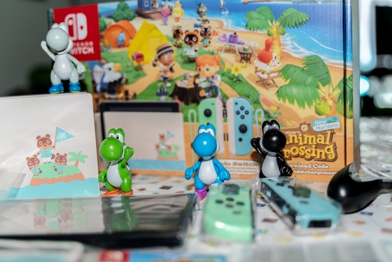 Nintendo Switch Animal Crossing New Horizons Edition Unboxing - 007