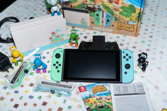 Nintendo Switch Animal Crossing New Horizons Edition Unboxing - 008