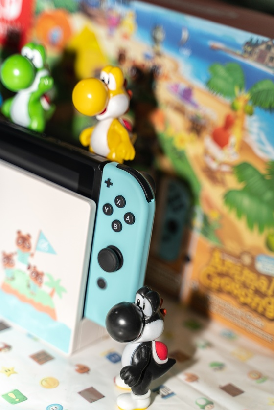 Nintendo Switch Animal Crossing New Horizons Edition Unboxing - 012