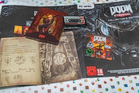 Doom Eternal Collector's Edition Unboxing - 005