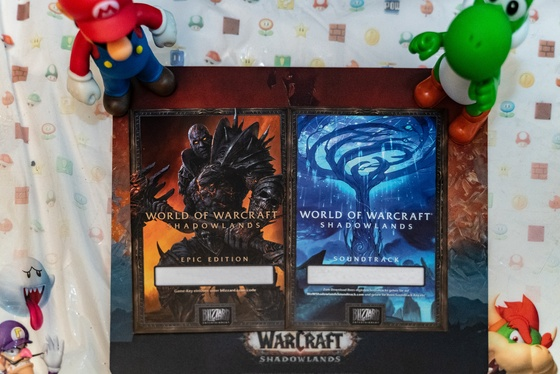 World of Warcraft Shadowlands Collector's Edition Unboxing - 011