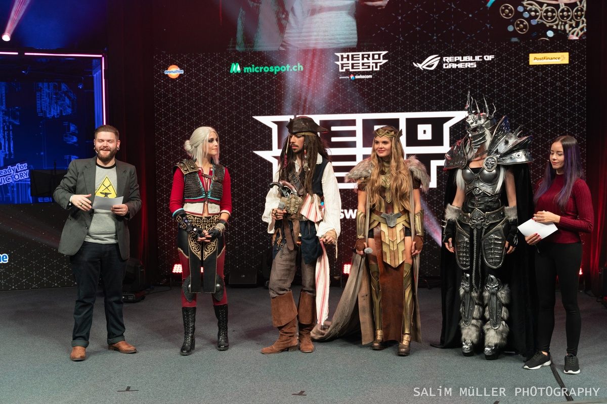 Herofest 2020 - Cosplay Contest Outtakes - 252