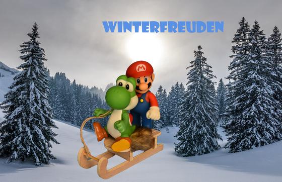Mario & Yoshi Wallpaper - 001