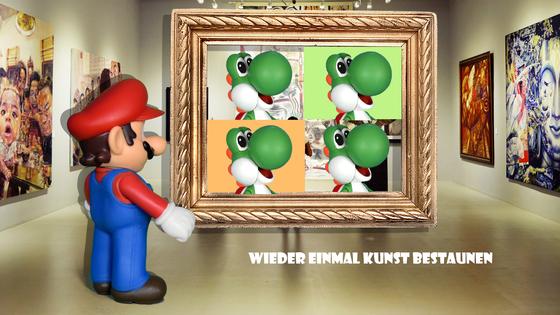 Mario & Yoshi Wallpaper - 003