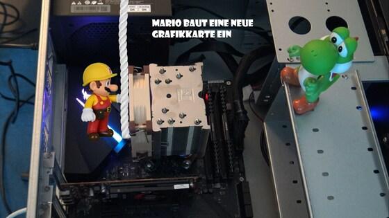 Mario & Yoshi Wallpaper - 006