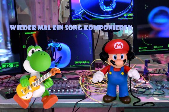 Mario & Yoshi Wallpaper - 015