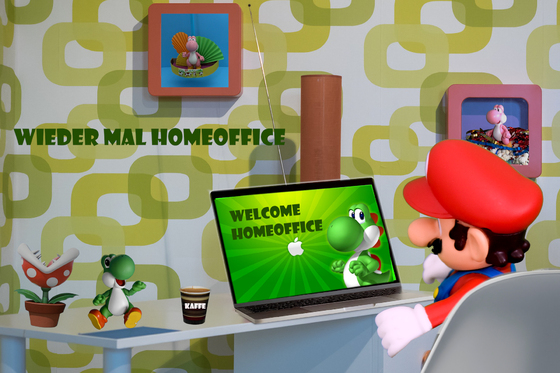 Mario & Yoshi Wallpaper - 025