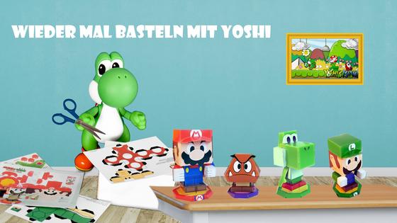 Mario & Yoshi Wallpaper Februar 2021 - 007