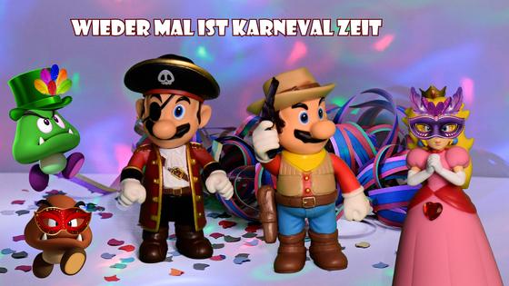 Mario & Yoshi Wallpaper Februar 2021 - 016