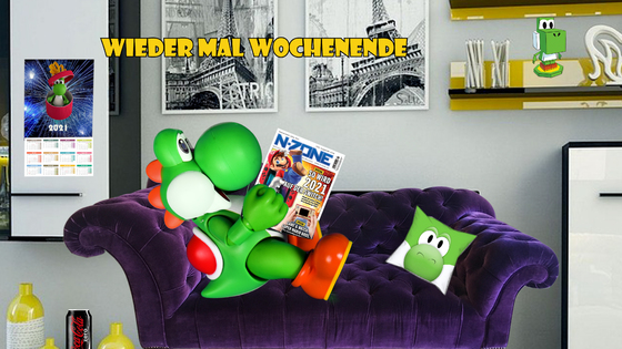 Mario & Yoshi Wallpaper Februar 2021 - 023