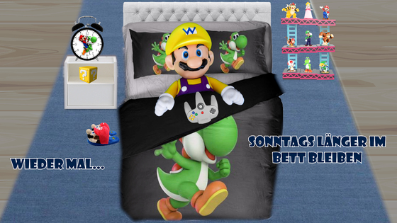 Mario & Yoshi Wallpaper Februar 2021 - 024
