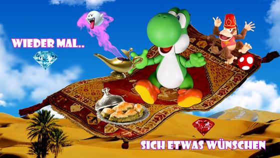 Mario & Yoshi Wallpaper März 2021 - 002