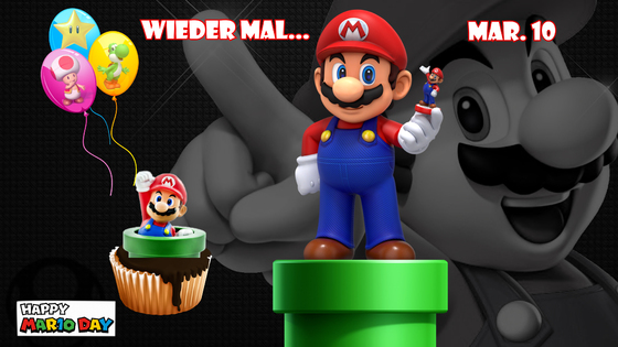 Mario & Yoshi Wallpaper März 2021 - 008