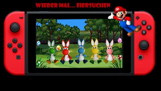 Mario & Yoshi Wallpaper März 2021 - 026