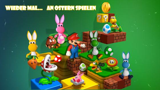 Mario & Yoshi Wallpaper März 2021 - 030