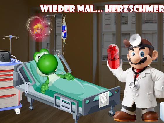 Mario & Yoshi Wallpaper April 2021 - 001