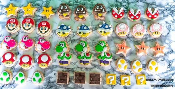 Super Mario Guetzli bachen mit Barni - 002