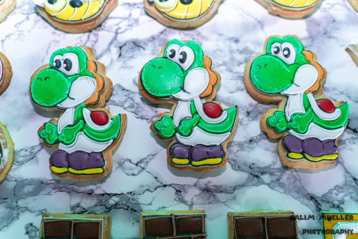 Super Mario Guetzli bachen mit Barni - 005