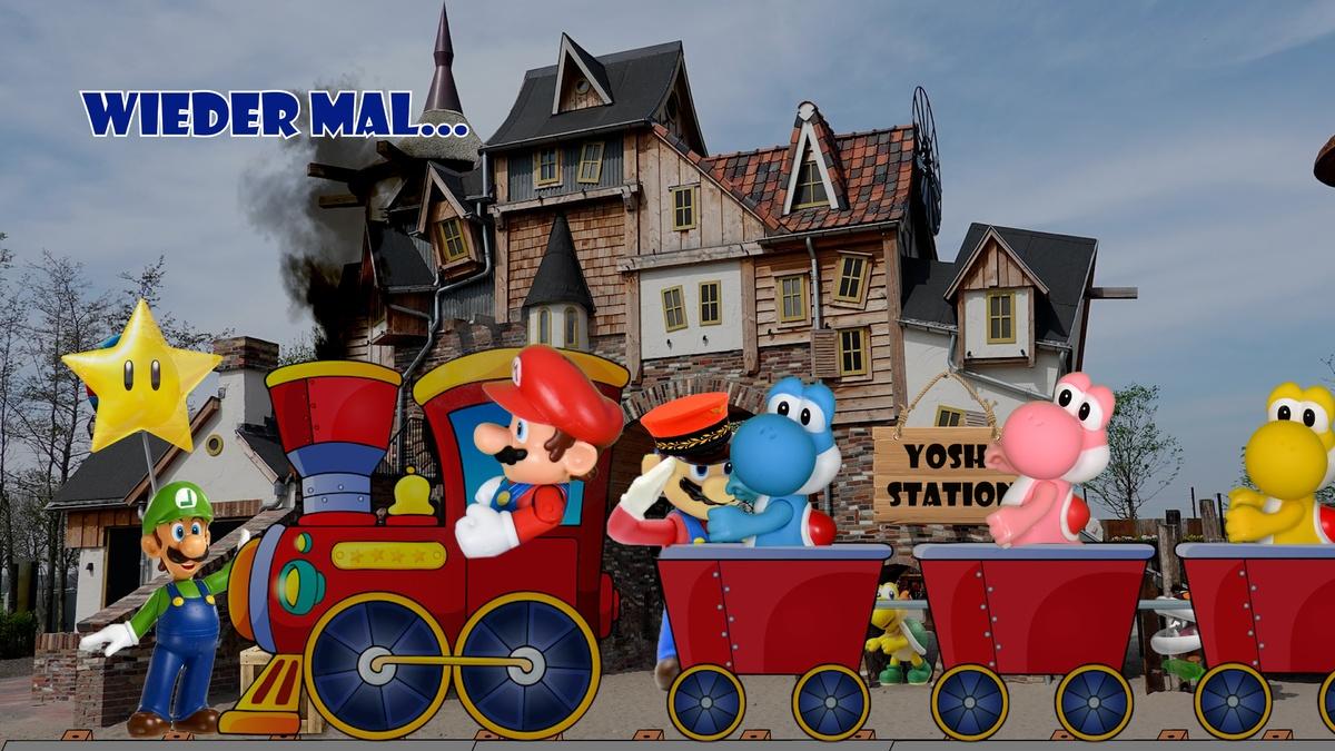 Mario & Yoshi Wallpaper August 2021 - 011